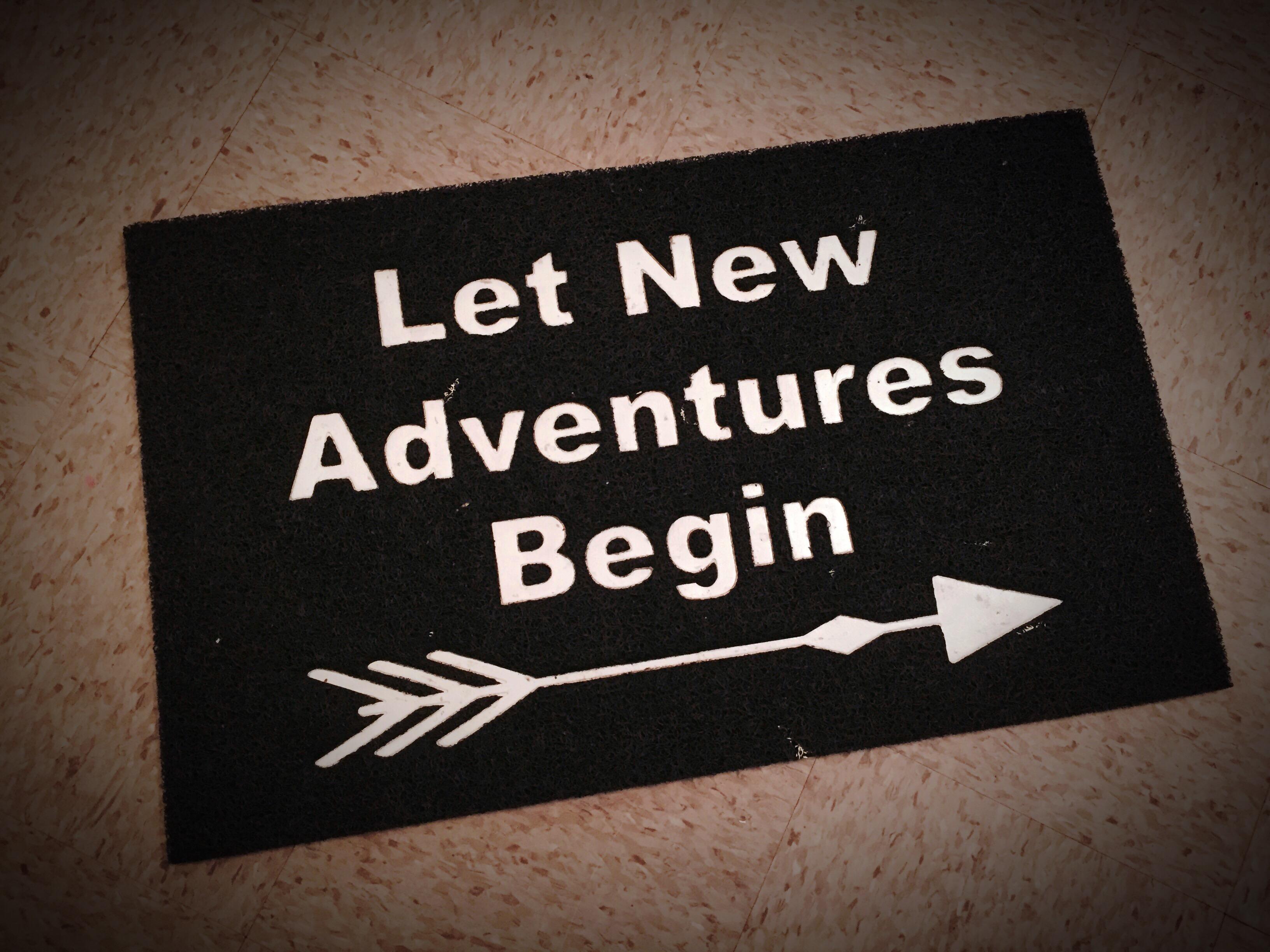 Let It Begin ~ Journey Along